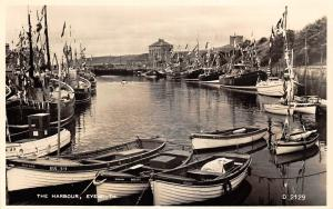 Eyemouth The Harbour Boats Port, Real Photograph