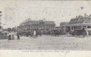 ASBURY PARK , New Jersey, PU-1908; Coleman House & West End Hotel