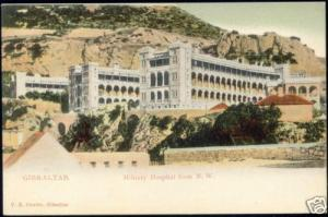 gibraltar, Military Hospital from N.W. (ca. 1899)