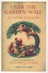 Over The Garden Wall Eleanor Farjeon 1933 Book Postcard