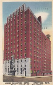 NASHVILLE, James Robertson Hotel, Tennessee, 30-40s