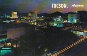 Arizona Tucson At Night 1960