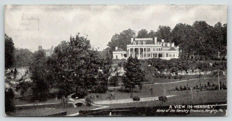 Hershey Pennsylvania~Hershey Chocolate Company~View in Hershey~c1910