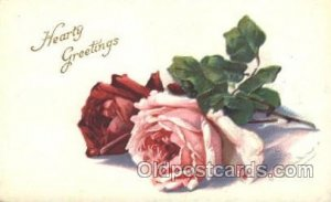 Series 412 A Artist Signed Catherine Klein Unused internal creases in card, s...