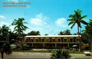 Florida Deerfield Beach Palm View Apartments 1978