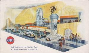 Gulf Exhibit At The World's Fair Chicago Illinois 1933