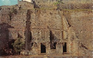 Martinique Post card Old Vintage Antique Postcard Ruins of Saint Pierre After...