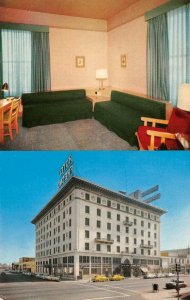 HOTEL FRESNO San Joaquin Valley Fresno, California ca 1950s Vintage Postcard