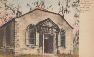CHARLESTON , South Carolina , 1900-10s ; St James (Goose Creek) Church