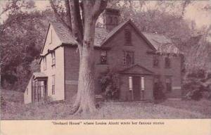 Massachustetts Concord Orchard House Where Louisa Alcott Wrote Her Famous Sto...