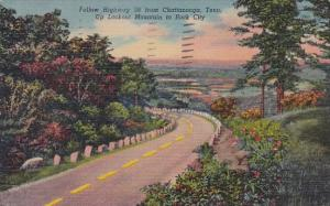 Tennessee Chattanooga Follow Highway 58 From Chattanooga Up Lookout Mountain ...