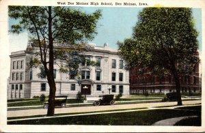 Iowa Des Moines West High School