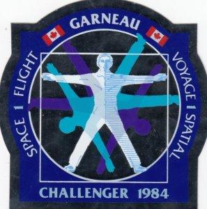 Space Flight , CHALLENGER 1984 , Sticker