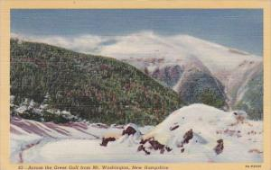 Across The Great Gulf From Mount Washington New Hampshire 1947