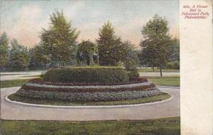 Pennsylvania Philadelphia A Flower Bed in Fairmount Park Artvue