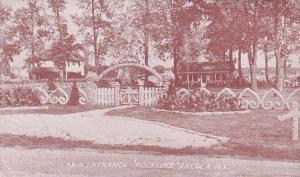 Illinois Arcola Cabin Entrance Rockome