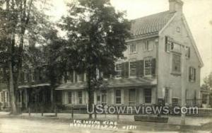The Indian King Tavern, Real Photo Haddonfield NJ Unused
