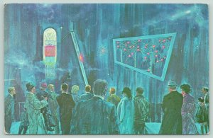 Nine Mile Point NY~Nuclear Power Process Center~Fission Room~Atoms~Artist 1973