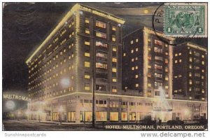 Hotel Multnomah Portland Oregon