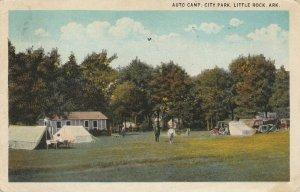 LITTLE ROCK , Arkansas , 1926 ; Auto Camp , City Park