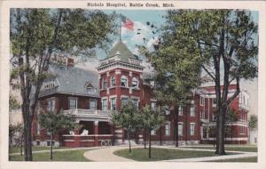 Michigan Battle Creek Nichols Hospital 1918