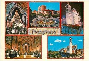 Postcard Modern Pamplona