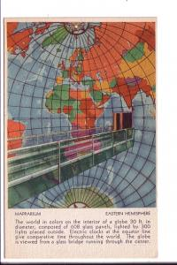 Mapparium, Map of Eastern Hemisphere, Christian Science Publishing