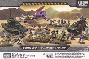 ADV: Megablocks HALO Universe, Halo.Megabloks.com,  Mega Brands Inc. Scan Cod...