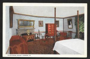 River Room Bedroom Mt Vernon VA Unused c1910s