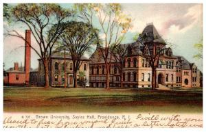 Rhode Island  Providence , Brown Unvi. Sayles Hall