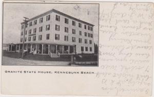 KENNEBUNK BEACH , Maine , 1910 ; Granite State House