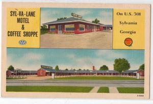 Syl-Va-Line Motel & Coffee Shop, Sylvania GA