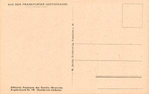 Frankfurter Goethehause Studierzimmer des Herrn Rat Study Room Books