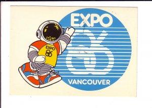 Expo 86,Vancouver, British Columbia, Ernie Mascot