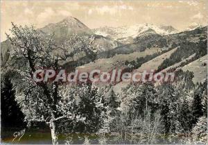 Postcard Modern Morzine (Haute Savoie) The Pointe Nantaux (2176 m)