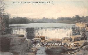 Falls of the Neversink River Fallsburg NY 1907