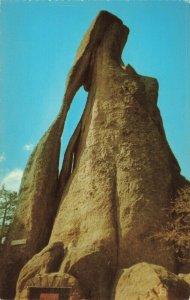 Postcard Needles Eye on Needle's Highway Black Hills South Dakota