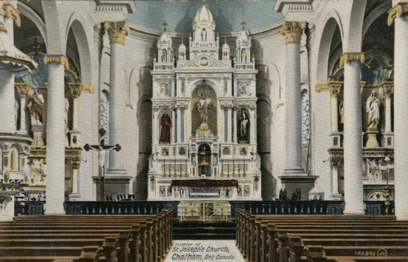 CHATHAM , Ontario , Canada , 1912 ; St Joseph Church