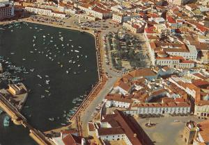 Portugal Algarve Faro port harbour panorama