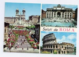 Italy Roma Multiview Colosseo Emanuele Monument Spanish Step