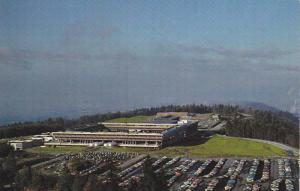 Aerial view looking West,  Simon Fraser University,  Burnaby 2,   B.C.,  Cana...