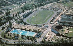 Parc de L´Exposition, Swimming Pool, Baseball Field, Trois-Rivieres, Quebec,...