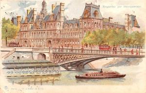 Paris L'Hotel de Ville 1903