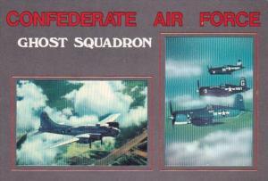 United States Air Force F4U Corsair & B-17 Bomber Confederate Air Force M...