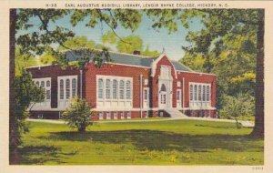 North Carolina Hickory Carl Augustus Rudisill Library Lenoir Rhyne College Al...