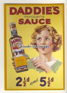 ad3675 - Daddie's Sauce - H.P Sauce - Modern Advert Postcard