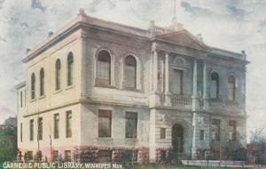 WINNIPEG , Manitoba , 1905 ; Carnegie Library