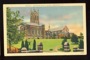 Rochester, New York/NY Postcard, Colgate-Rochester Divinity School