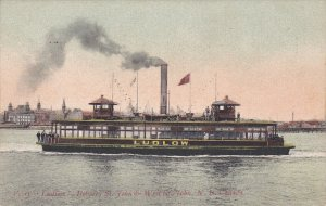 Ferry Ludlow, Between St. John & West St. John, N. H. Canada, 00-10s
