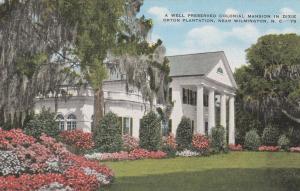 Colonial Mansion in Orton Plantation - Wilmington NC, North Carolina - Linen